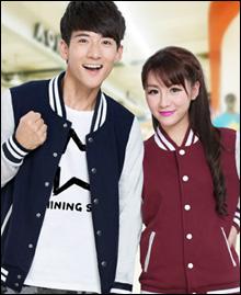 新款班服学生韩版棒球服外套情侣装棒球开衫...
